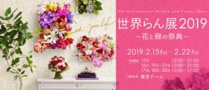 世界らん展2019(東京ドーム) @ 東京ドーム
