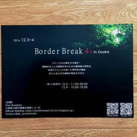 BORDER BREAK @ Pine Brooklyn  | 大阪市 | 大阪府 | 日本